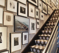 gallery wall staircase inspiration