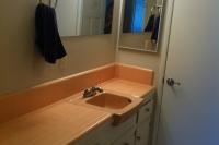 Jessie's Pink Bathroom Tile
