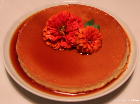 mexican theme themed dinner party girls night flan