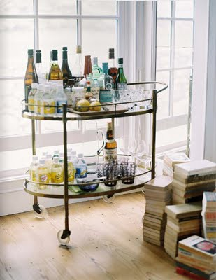 Bar Cart Display