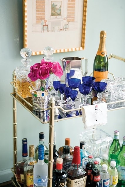 Bar Cart Display