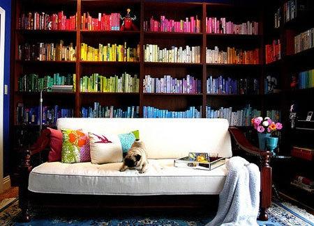 Pinterest Pin - Bookcase
