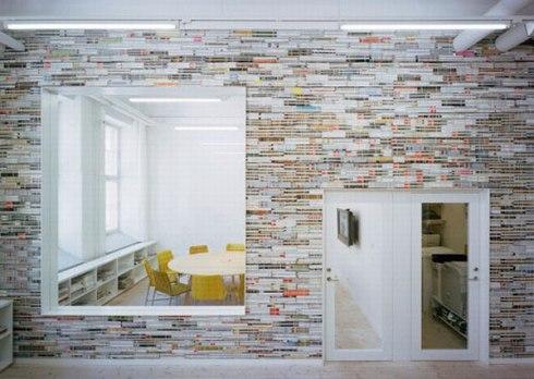magazine-wall